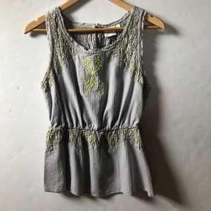 HD in PARIS for Anthropologie  Embroidered Peplum